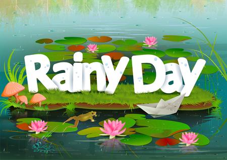 rainy day: Rainy Day wallpaper background