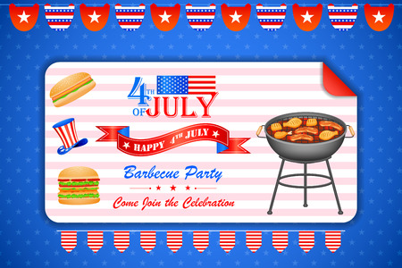 sizzling: 4th of July wallpaper background
