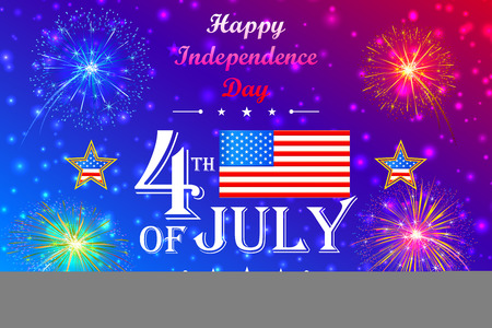 4th of July wallpaper background Stok Fotoğraf - 41369047