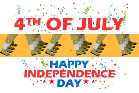 julio: 4 de julio desfile