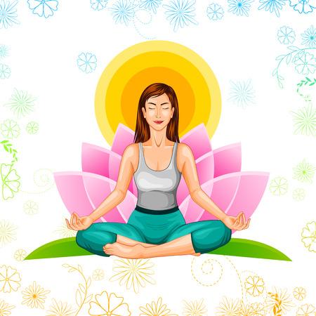 International Yoga Day Stok Fotoğraf - 41369414
