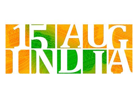 independencia: ilustración de fondo Día de la Independencia de la India