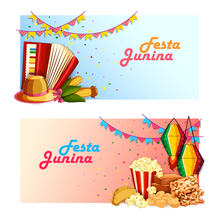 feast: Festa Junina celebration background of Brazil and Portugal festival