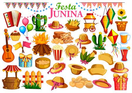 fogatas: Celebración Festa Junina fondo de Brasil y Portugal festival