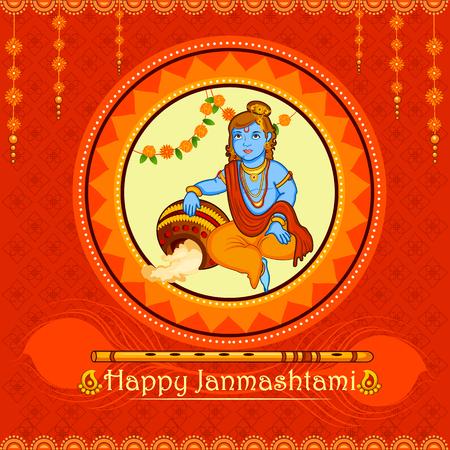 mahabharata: Lord Krishna stealing makhaan in Happy Janmashtami