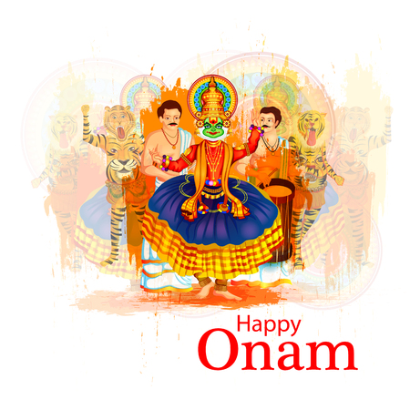 Happy Onam Festival Background