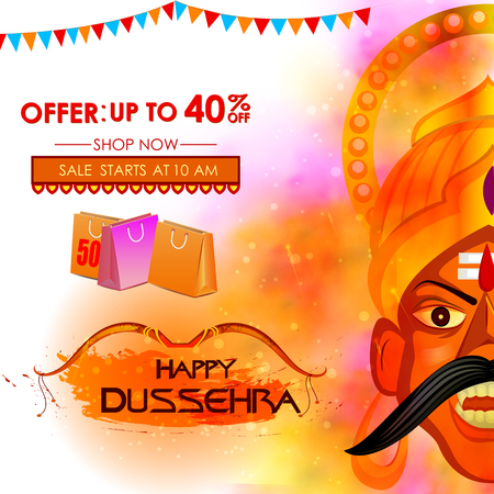 Ravana in Happy Dussehra Festival Offer