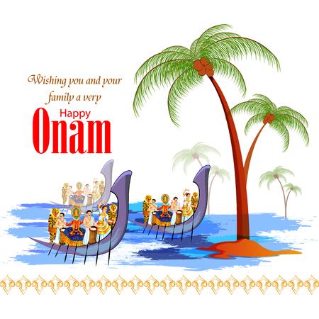 Happy Onam Festival Background