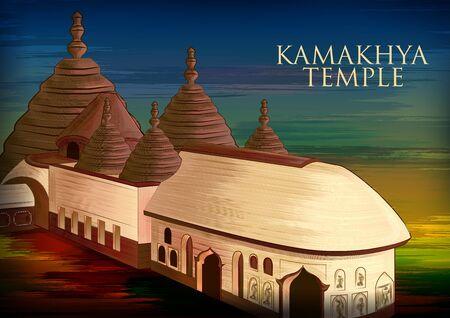 Historical monument Kamakhya Temple in Guwahati, Assam, India