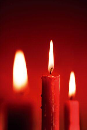 vax: Three candles.