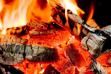 Hot coals Stock Photo - 3420195