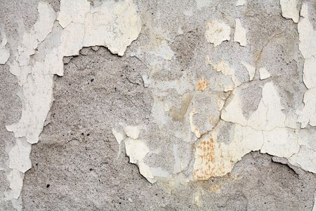 flaking: Grunge concrete background with crackled paint