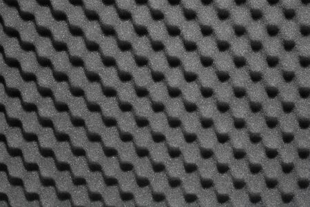 the padding: Bumpy open-cell foam rubber