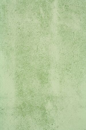 greeen: Green background, concrete painted greeen