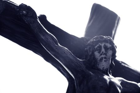Photo of an old crucifix