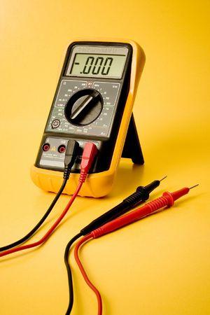 Digital multimeter Stock Photo