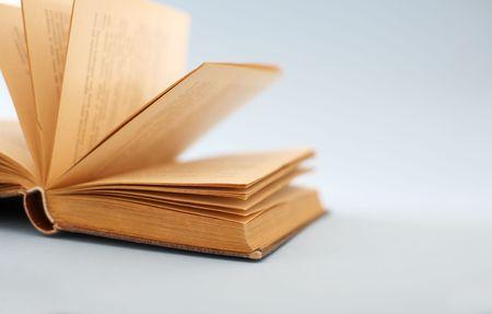 antics: an old open book