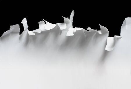shredded: Torn paper