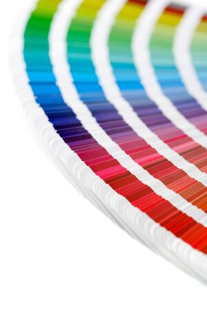 offset: CMYK printing color swatches