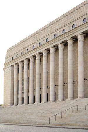 "finland�s: Parlamento finland�s ""Eduskunta"" casa ubicada en Helsinki"