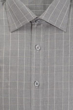 Plaid men's dress shirt detail Stock Photo - 4247739