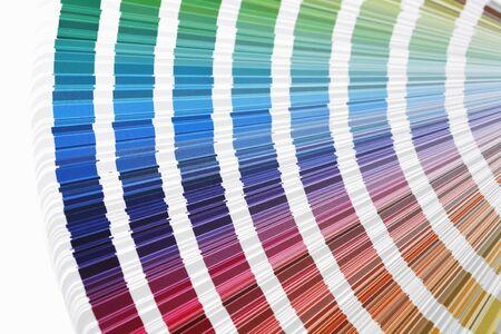 referenz: Vier CMYK-Farb-Druck auf Muster
