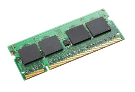 module: SO-DIMM laptop computer RAM memory module Stock Photo
