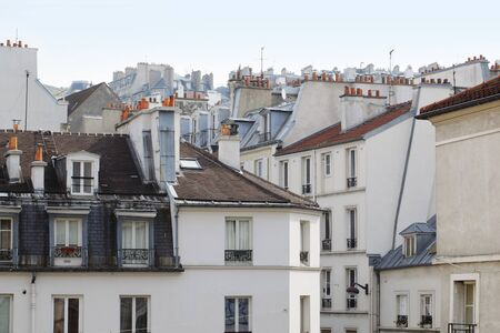 Old houses at Montmartre, Paris, France Stock Photo - 7745777
