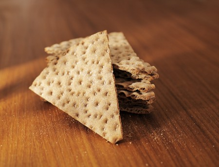 crispbread: Cracker, una cucina svedese e scandinavo.