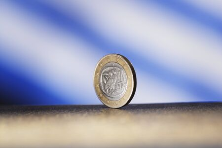 Greek Euro Coin Stock Photo - 9095704