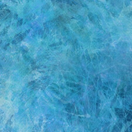 painterly: Abstract artistic painterly blue background texture. Stock Photo