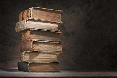 A Stack of old books. Stock Photo - 10422084