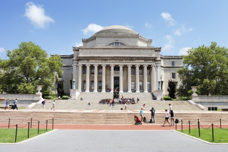 NEW YORK CITY, USA - JUNE 14: The Low Memorial Library of Columbia University. The Building now consists almost solely of administrative offices. June 14, 2012 in New York City, USA