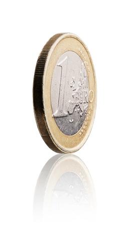 Zwei 1 Euro Münzen Aus Zypern Lizenzfreie Fotos Bilder Und Stock