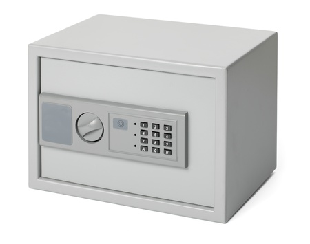 office use: Small safe for home and office use, with digital lock.