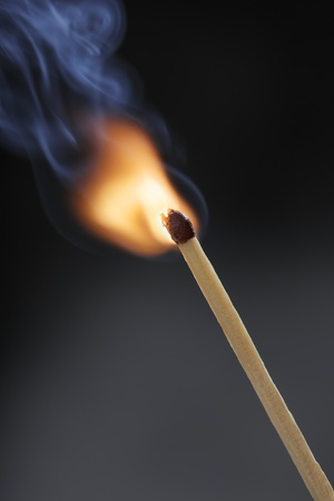 Ignition of a match stick. Stock Photo - 16438840