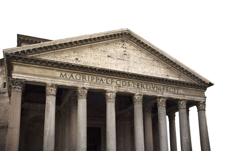 reign: The Pantheon is a building in Rome, Italy, commissioned by Marcus Agrippa during the reign of Augustus (27 BC - 14 AD) and rebuilt by the emperor Hadrian about 126 AD.