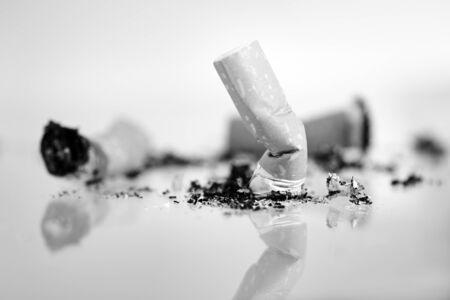 stinks: Cigarette butts