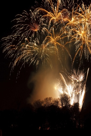 feu d artifice: Un coffre-fort Display Fireworks organis� � Carlisle Fireshow Banque d'images