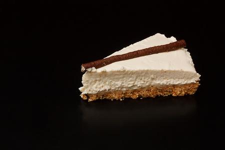 nice food: Кусочек шоколада оранжевой Чизкейк
