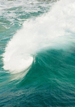 granola: Sormy condiciones del mar con olas de fondo