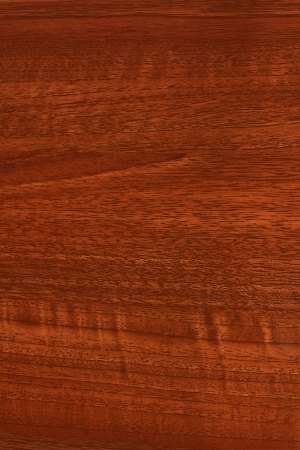 A close up of mahogony, teak or stained wood grain for website wallpaper or background photo