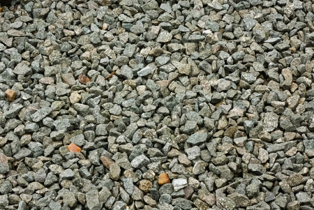 aggregates: granite stone decorative chippings or aggregates used on driveways and walkways