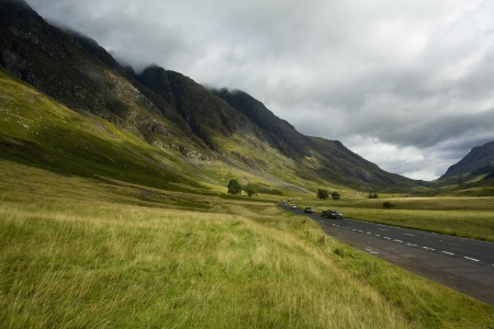 british weather: Glencoe a valley in the Highlands of Scotland, famous for the massacre in the 1690