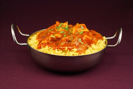 Chicken jalfrezi a popular indian curry often available in restaurants or as an indian take away