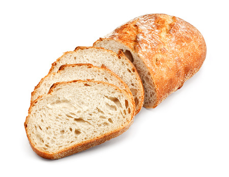 bread soda: freshly baked homemade tradtional hand sliced bread