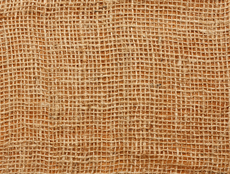Extreme close up of a loose weave jute vegetable sack designed to keep vegetables fresh Stock Photo - 23044116
