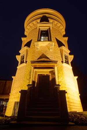 eighteenth: Dumfries Museum and Camera Obscura housed in an eighteenth century windmill overlooking the town  A great place to visit to learn about the history of South West Scotland  Editorial
