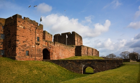 norman castle: Carlisle Castle