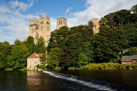 The Cathedral Church of Christ, Blessed Mary the Virgin and St Cuthbert of Durham or Durham Cathedral for short Stock Photo - 24832571